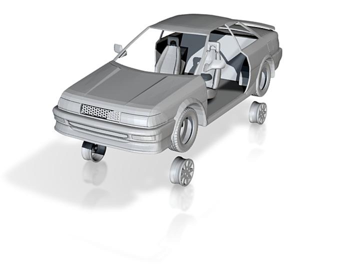 1:48 Scale AE92 Toyota Corolla 3d printed