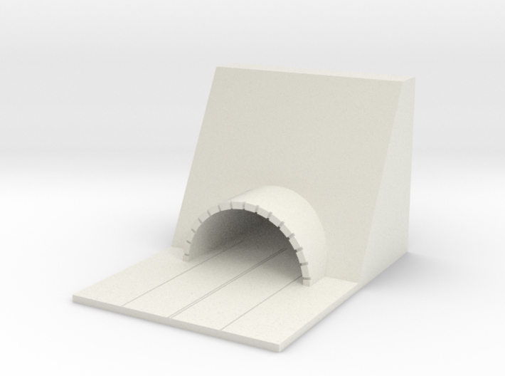 1/700 Small Tunnel 3d printed