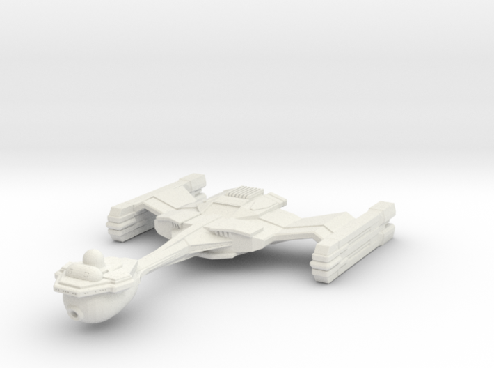 Starbarian C3 Assassin Class Cruiser 3d printed