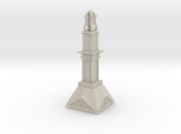 Temple Pillar 3d printed