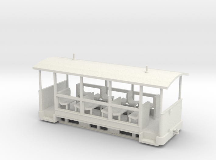 Straßenbahn-Sommerwagen (ex Barmer Bergbahn) 3d printed