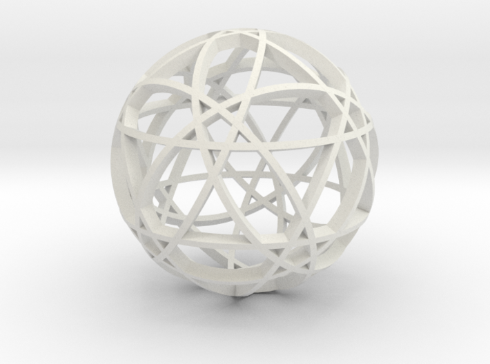 Pentagram Dodecahedron 2 (narrow) 3d printed