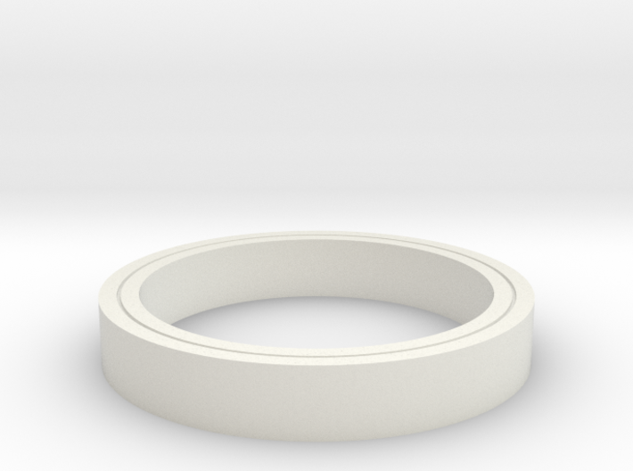 Clear Ring 3d printed