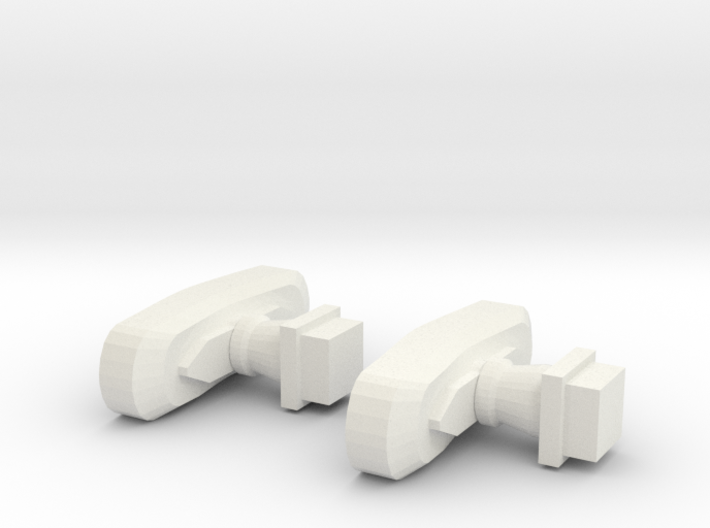 ABH Buffers - Nm - 1:160 3d printed