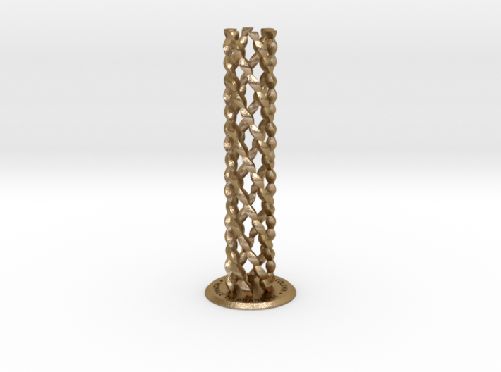 ENDLESS COLUMN 2012 - HOMAGE TO BRANCUSI (v.#6) 3d printed