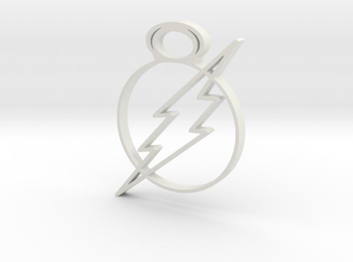 flash 3d printed
