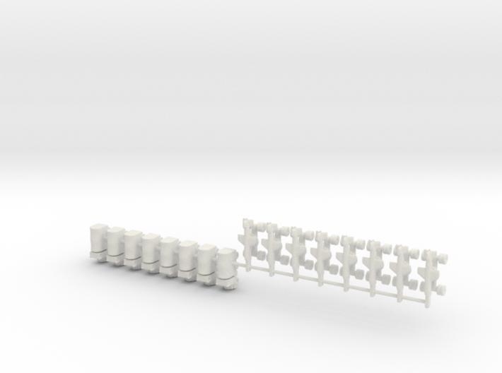 1/700 Silkworm HY-2 Battery 3d printed