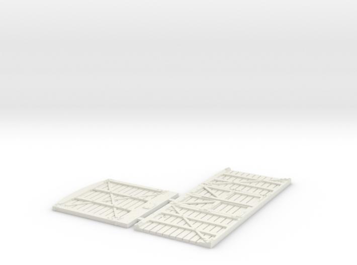 GNSR 14S Flatpack HO 3d printed