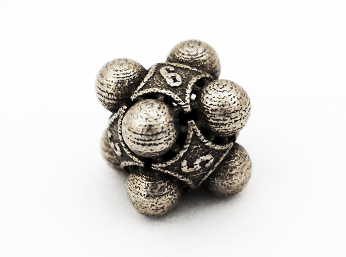Nucleus D6 3d printed Stainless Steel
