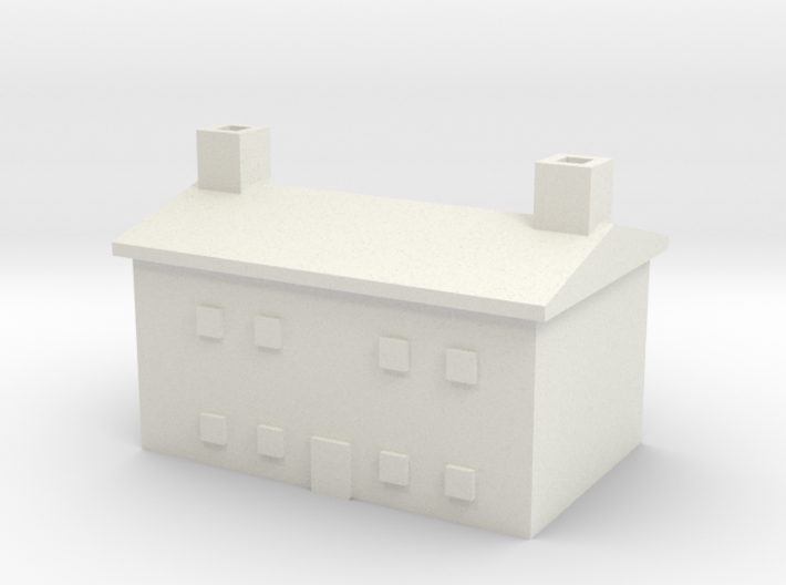 1/700 Farm House 2 3d printed