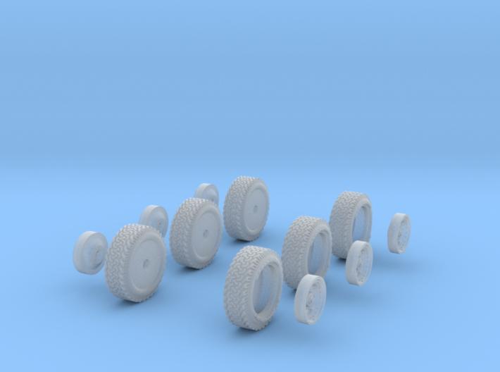 1-64 BFG AT Tire+Rim AR23 3d printed