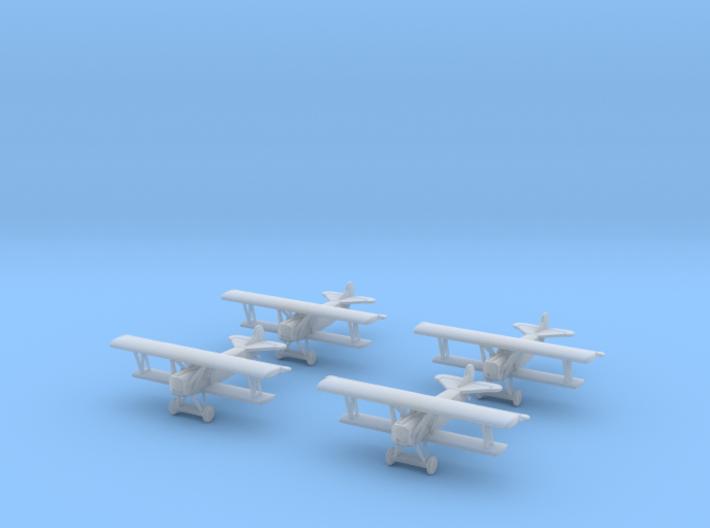 1/350 Fokker D.VII 3d printed