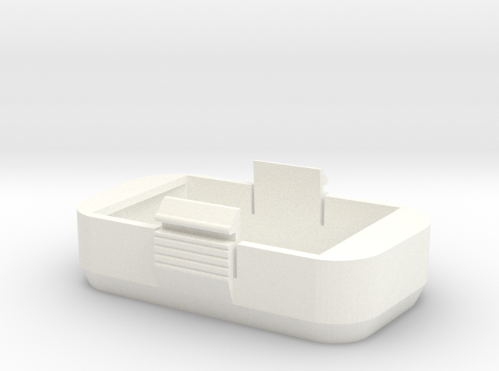 Couvercle batterie pour phantom Dji P2 Petit modèl 3d printed