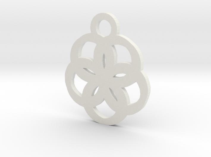 flower2 3d printed