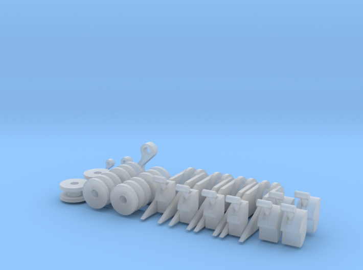 Pulley for Matchbox Wrecker 3d printed
