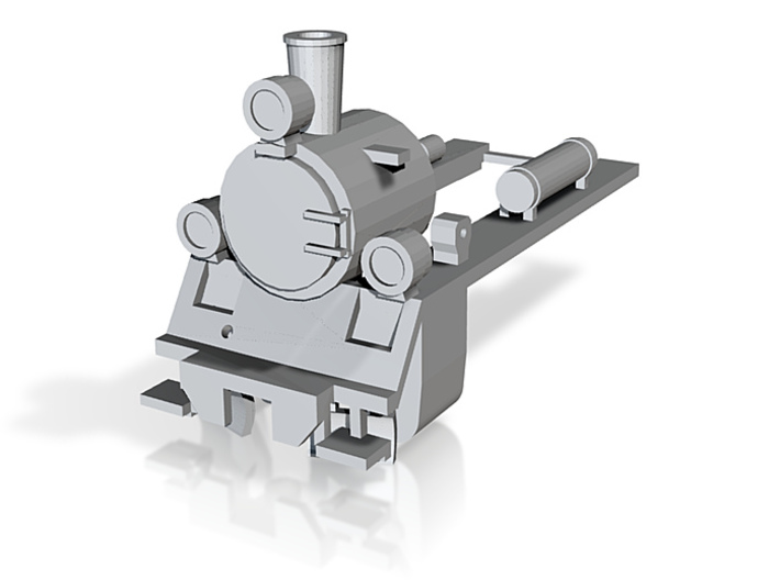 PX48 Smokebox and running plate 7mm scale 001 3d printed
