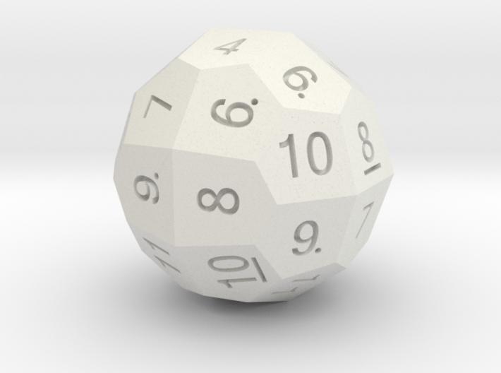 D36 Standard Numbers 3d printed