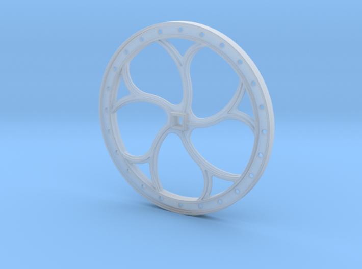 Brake Wheel F-Scale 1:20.3  3d printed