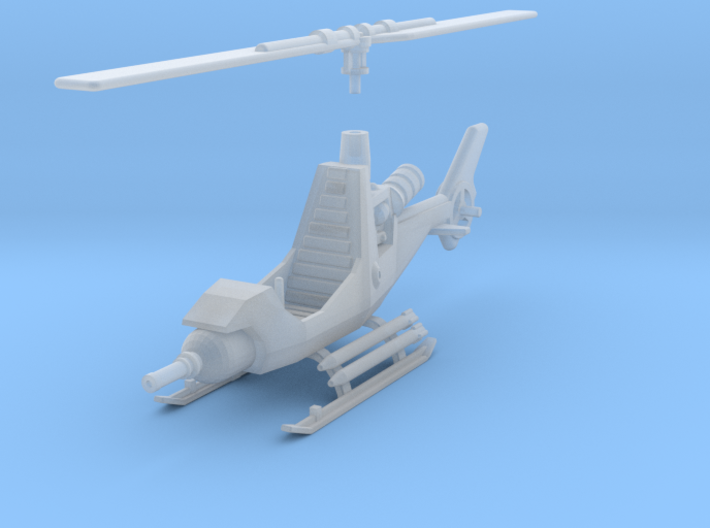 TA08A Attack Gyrocopter (15mm) 3d printed