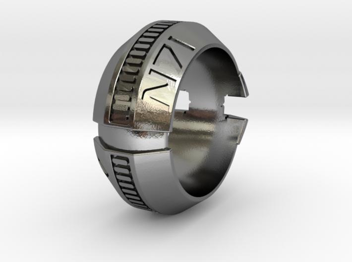 Thermal Clip Ring 6.5 3d printed