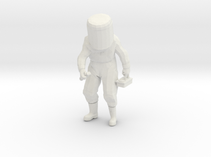HAZMAT All Hazards-Guy 3d printed