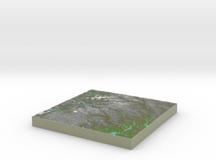 Terrafab generated model Sat Apr 26 2014 21:34:53 3d printed