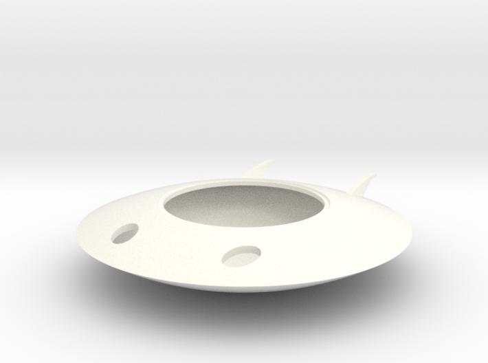Spaceman Spiff Spaceship 3d printed