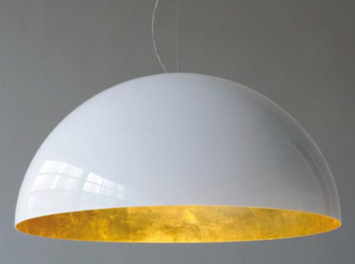 1:12 Lampshade hanging 3cm diameter 3d printed