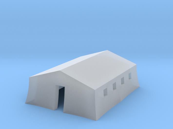 1/350 Tent Barracks 3d printed