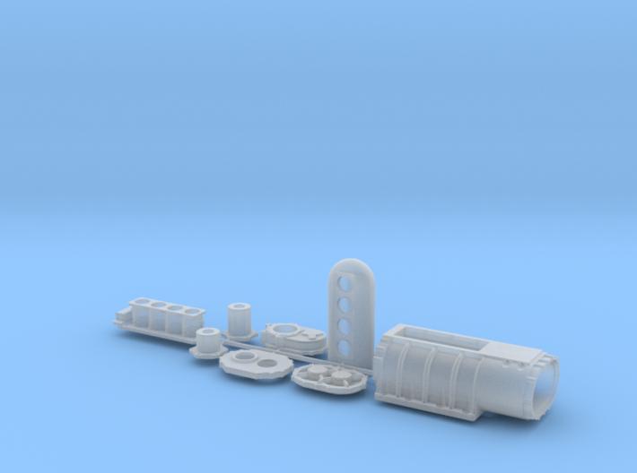 1/10 18 71 Kobelco injectors scoop 3d printed
