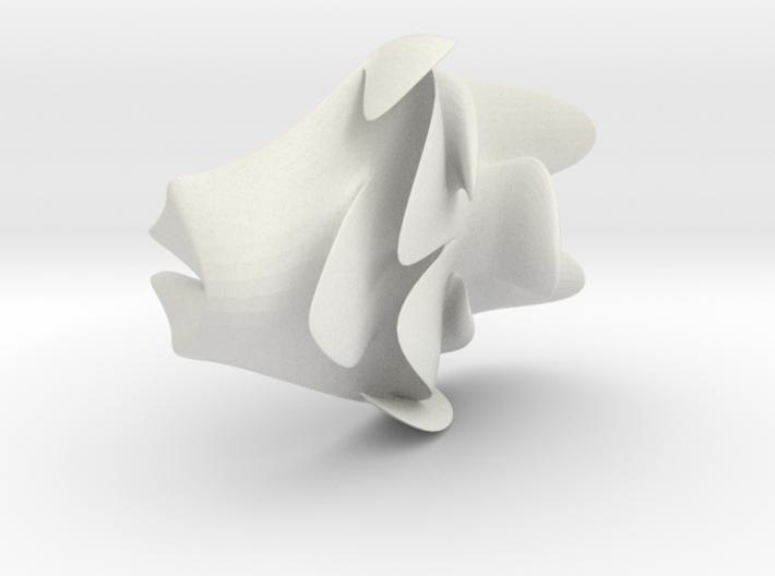 CrowdedHead_electrodeDecoration 3d printed