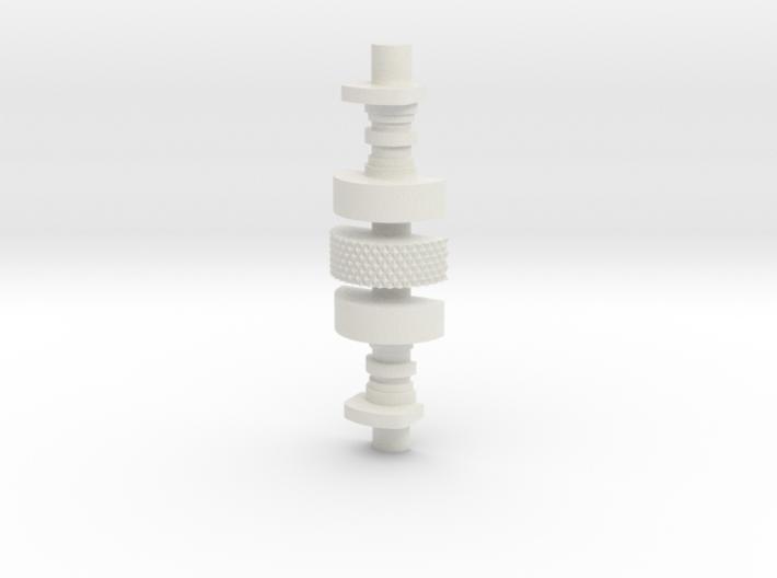 C3PO Bicep Greeble V1 SOLID 3d printed