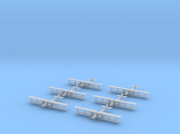 1/350 Caudron R.11 (x6) 3d printed