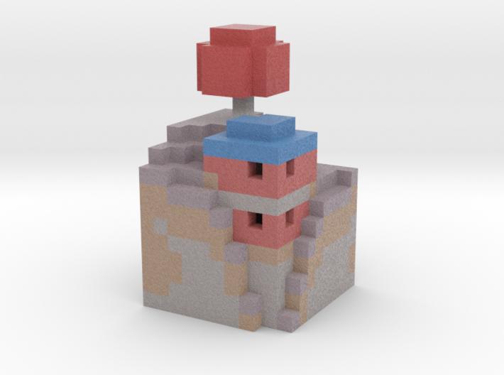 mushroom house 3d printed