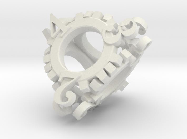 Steampunk Gear d4 3d printed