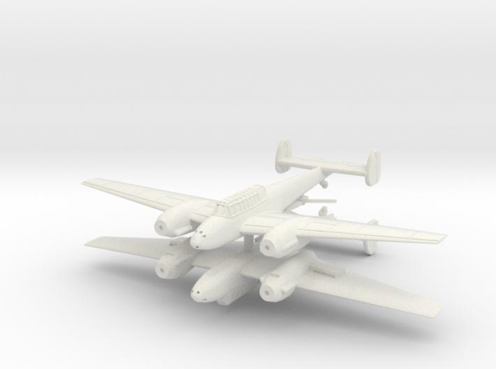 1/200th Messerschmitt Bf 110 (Two planes) 3d printed