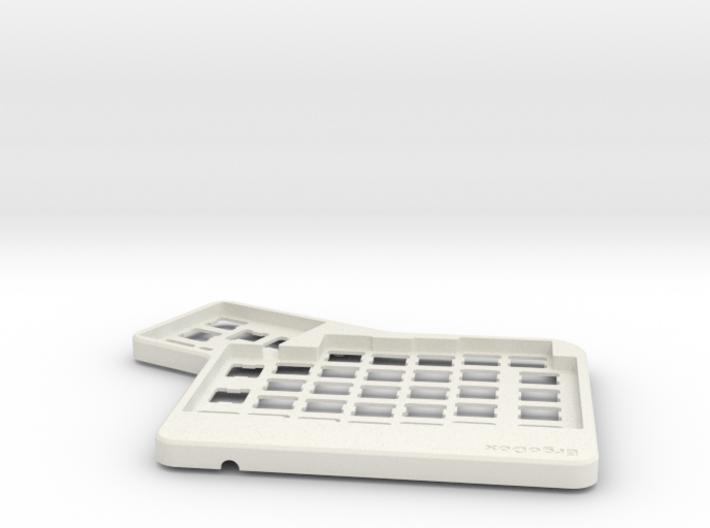 ErgoDox Top Left Case 3d printed