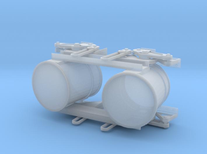 Western Cylinders 3d printed