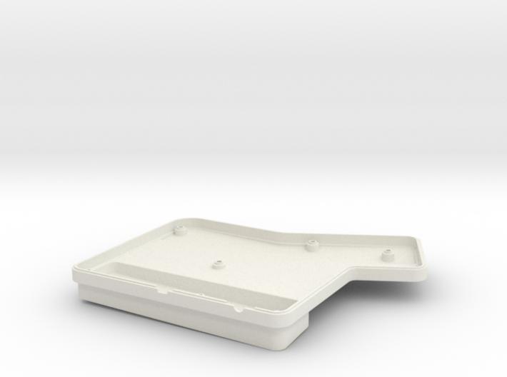 ErgoDox Bottom Right Case (single slope) 3d printed
