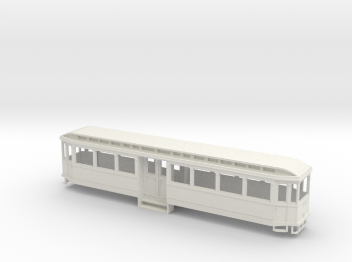 Chassis Beiwagen K-Bahn 1912 3d printed