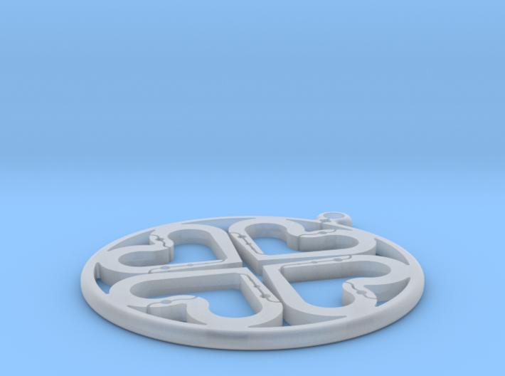Ciondolo 3d printed