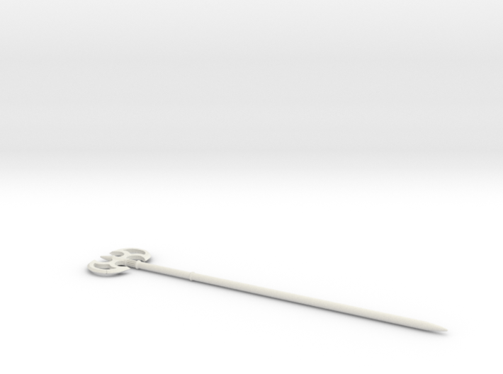 Battle Axe Hairstick, single 3d printed