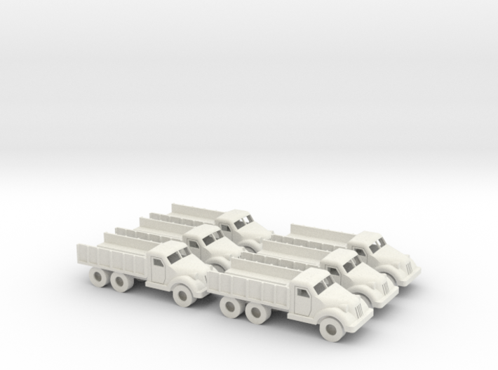 15mm Anglian 4x6 Hauler (x6) 3d printed