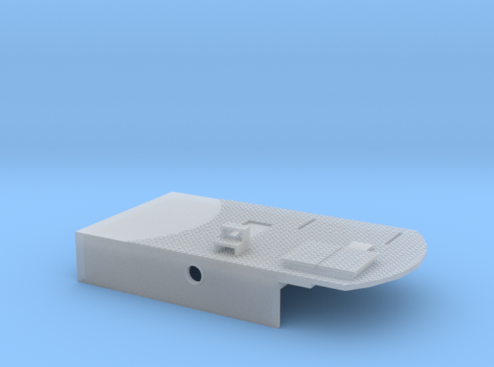 Mittelteil des Aufbaus neu 3d printed