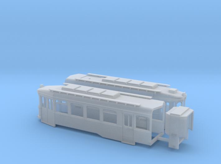 Chassis Harkortwagen 3d printed