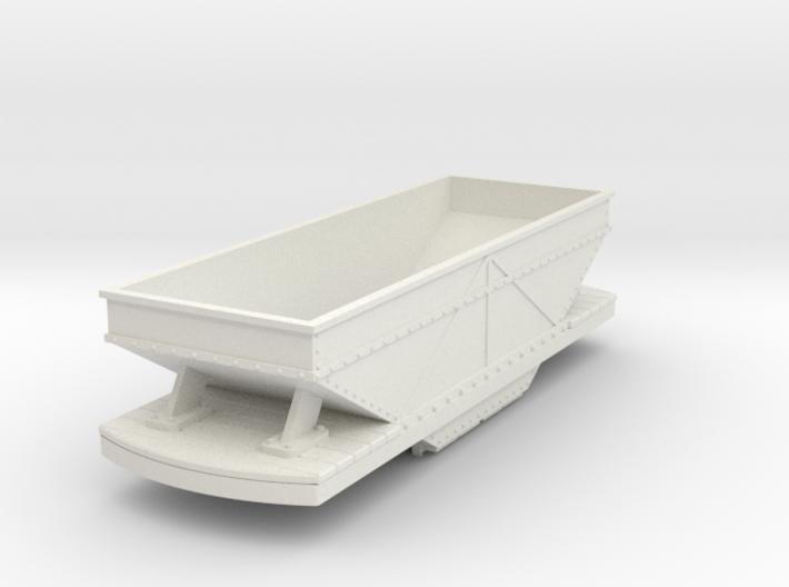 55n9 bogie hopper - steel 3d printed
