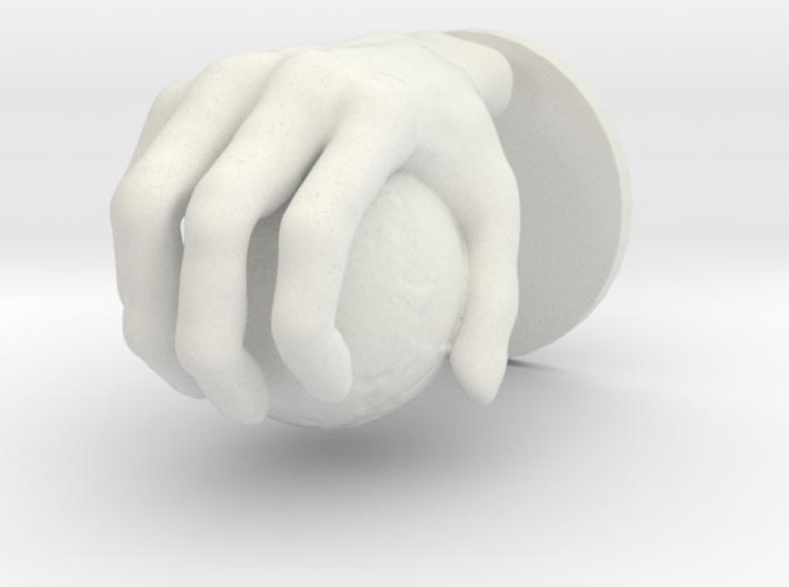 Hand globe Large 3d printed