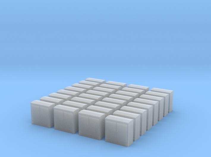 06.004.011Schaltkasten BB1400 alt 32fach 3d printed