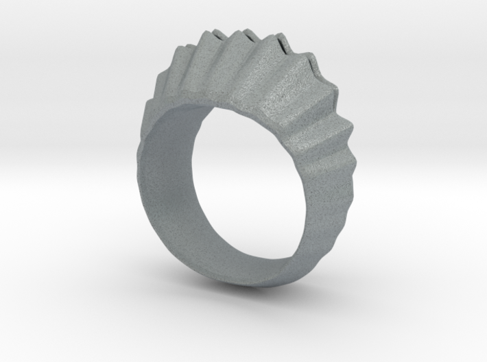 sea shell ring 3d printed