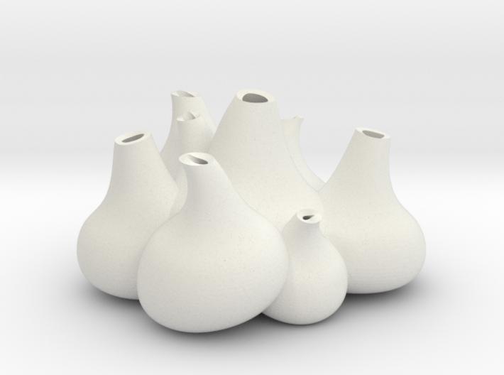 NLpro bulb flowers 3d printed